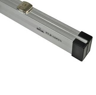 Peradon Case Aluminium Silver 2pc