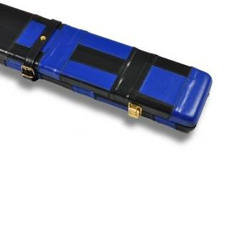 Peradon Leather Case Black Blue 3QTR