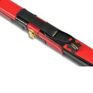 Peradon Leather Case Black Red Thin 1pc