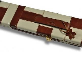 Peradon Leather Case Tan Cream 3QTR