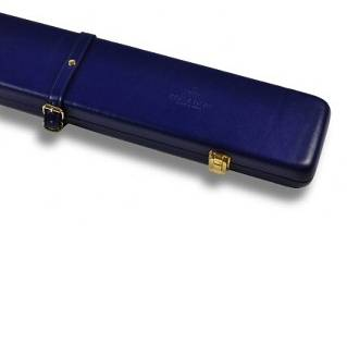 Peradon Leather Case Blue 3QTR