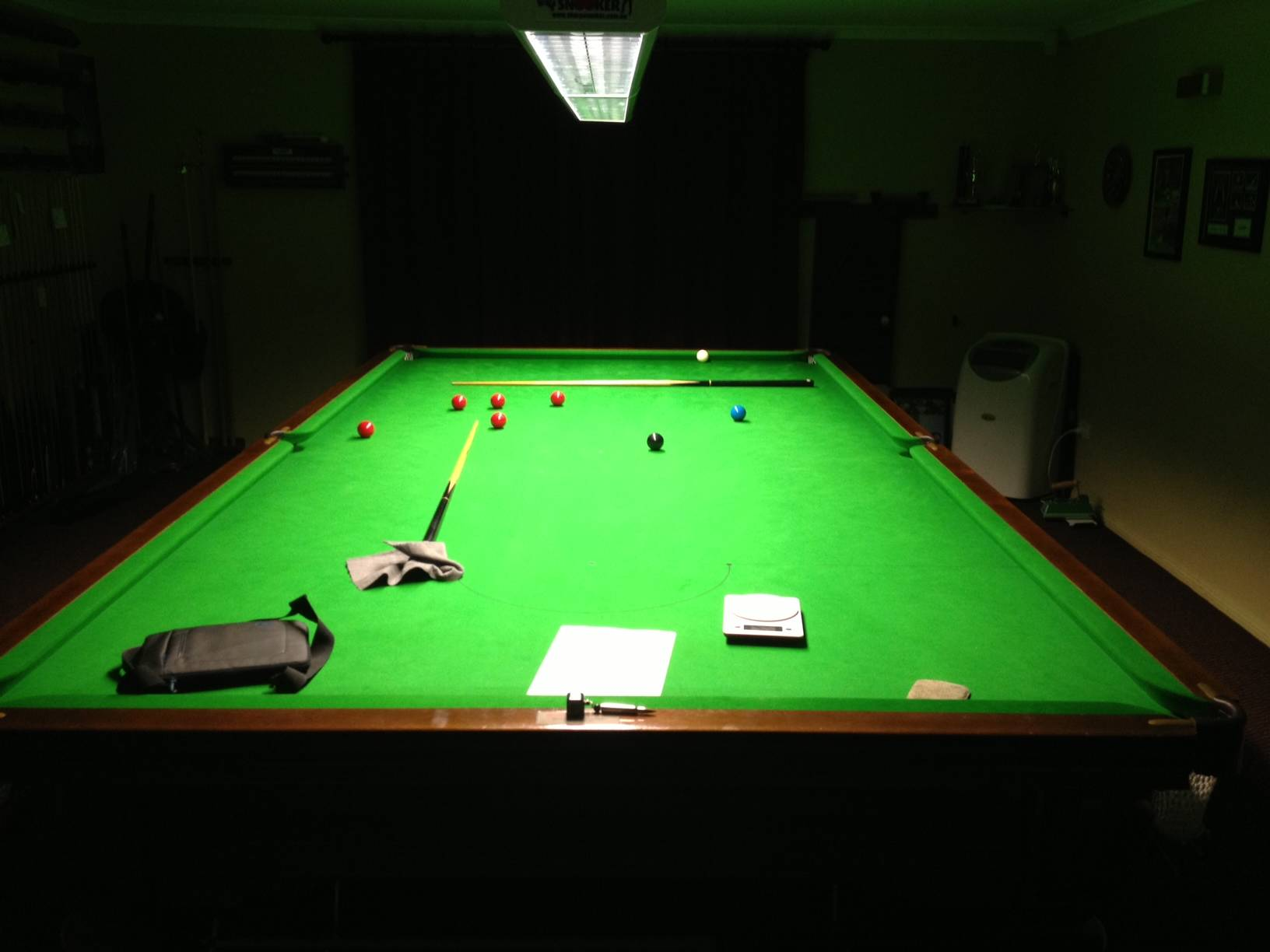 Snooker and pool table light 6ft 8ft ebay - Pool table lights ...