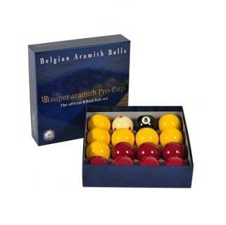Super Aramith Pro 8 Ball Set 2 inch