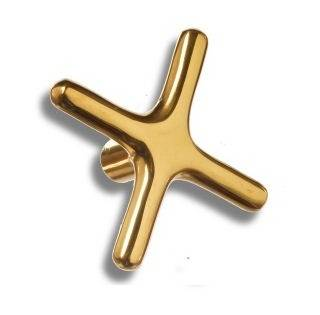 Brass Cross Rest