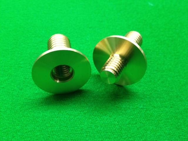 Snooker Pool Cue Brass Joint Sharp Snooker