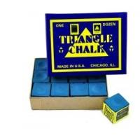 Tweeten Triangle Chalk 12 Blocks Blue