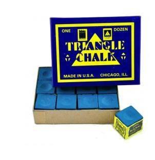 Tweeten Triangle Chalk 12 Blocks Blue
