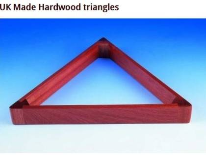 Triangle Hardwood 2 1/16 Mahogany colour