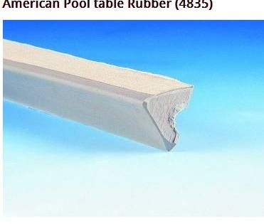 American Pool Table Rubber