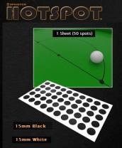 Hotspot Table Spots Black & White