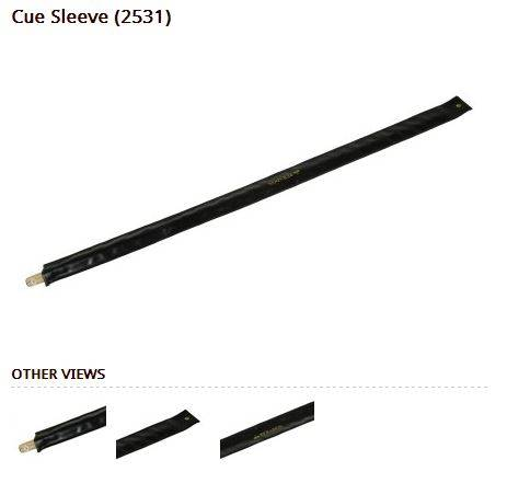 Cue Sleeve PVC 1pc Cue