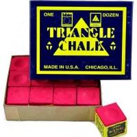 Tweeten Triangle Chalk 12 Blocks Red