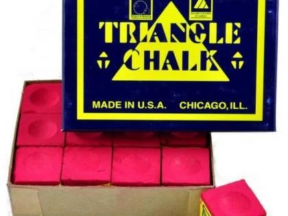 Tweeten Triangle Chalk 12 Blocks Red